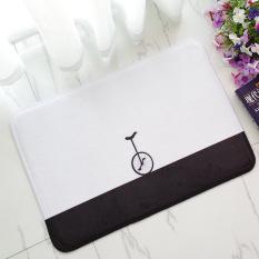 Busa Lunak Yang Tidak Licin Bicycle Bath Toilet Karpet Kamar Mandi Karpet Lantai Mat-Intl