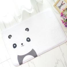 Busa Lunak Yang Tidak Licin Anak-anak Lovely Panda Bath Toilet Karpet Kamar Mandi Karpet Lantai Mat-Intl