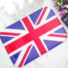 Busa Lunak Yang Tidak Licin England Bath Toilet Karpet Kamar Mandi Karpet Lantai Mat-Intl