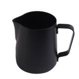 Pusat Jual Beli Bebas Stick Coating Stainless Steel Espresso Cokelat Kehitaman Latte Buih Kendi 350 Ml Intl Tiongkok