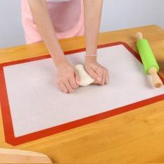 Non-stick Silicone Macaron Baking Mat Pad Silpat Lembar Roti Pastry Tools Rolling Adonan Mat Ukuran Besar untuk Kue Cookie-Intl