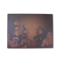 Novalle Wood Printing Wayang Semar
