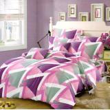 Spesifikasi Nyenyak Bedcover King 3D Motif Violet 180X200 Cm Terbaik
