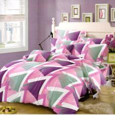 Beli Nyenyak Bedcover King 3D Motif Violet 180X200 Cm Yang Bagus