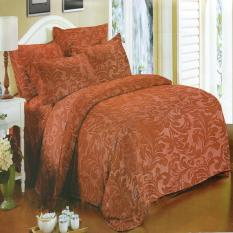 Katalog Nyenyak Premium Line Sprei Single 100X200X30 Cm Warna Brandy Brown Royal Embossed Nyenyak Terbaru
