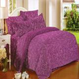 Harga Termurah Nyenyak Premium Line Sprei Single 100X200X30 Cm Warna Mulberry Royal Embossed