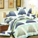 Jual Nyenyak Sprei Single 100X200 Cm Motif Triangles Online Di Indonesia