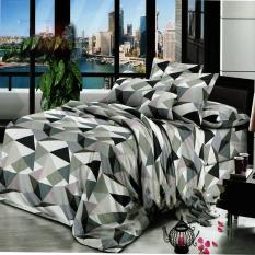 Nyenyak Sprei Single Motif Abstrak 120x200 cm