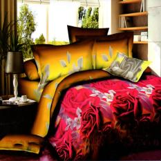 Review Nyenyak Sprei Single Motif Golden Flowers 120X200 Cm Di Indonesia