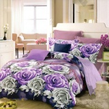 Nyenyak Sprei Single Motif Iris 120X200 Cm Indonesia