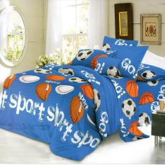 Beli Nyenyak Sprei Single Motif Sports 120X200 Cm Nyicil