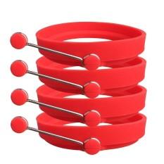 ... Alat Dapur Source · Oanda Cincin Telur Silikon Pancake Cetakan Tidak Lengket Bulat Telur Cincin Cetakan untuk Dapur Memasak