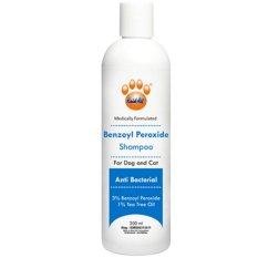 Obat Hewan Shampoo Benzoyl Peroxide Anti Bakteri untuk Kucing