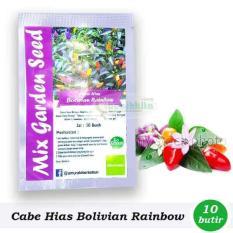 Obral Murah Benih-Bibit Cabai Hias Pelangi Bolivian Rainbow (Mix Garden)