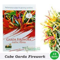Obral Murah Benih/Bibit Cabe Hias Garda Firework (Maica Leaf)