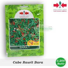 Obral Murah Benih/Bibit Cabe Rawit Bara 3200 Butir (Cap Panah Merah)