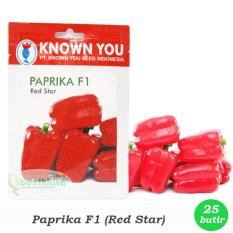 Obral Murah Benih/Bibit Paprika Merah (Known-You Seed)