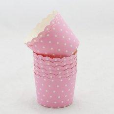 Harga Oem Cake Baking Paper Cup Cupcake Muffin Cases 50 Pcs Pink Dot Intl Seken