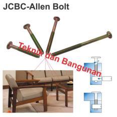 OEM JC-BC Bolt/Baut Ligna M6 X 80mm @50pcs