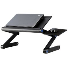 Beli Oem Portable Laptop Table With Mouse Desk Length 42Cm A Ld 42B Hitam Online Murah