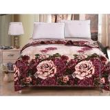 Jual Oem Selimut Bulu Dewasa 180X200 Beauty Rose Branded Murah