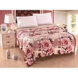Beli Oem Selimut Bulu Dewasa 180X200 Pink Rose Pake Kartu Kredit
