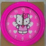 Jual Ogana Jam Dinding Bulat Hello Kitty Love Ori