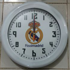 Ogana Jam Dinding Club Real Madrid