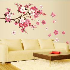 Spesifikasi Oh Bunga Yang Dapat Dilepas Persik Butterfly Wall Stiker Pvc Stiker Dinding Rumah Dekorasi Kamar Not Specified