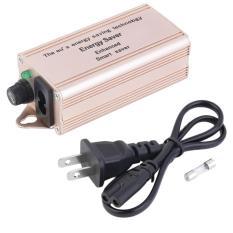 OH Smart Electricity Enhanced Saving Box Power 30%-40% Energy Saver & US Plug Golden