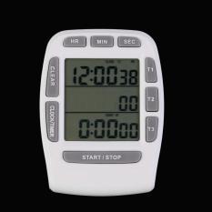 OH Penghitung Waktu Dapur For Memasak 3 Baris LCD Digital With Alarm Hitungan Mundur