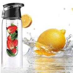 Jual Ohome Botol Minum Xx Ko Detox Infused Water Bpa Free Bottle ±700 Ml 24 5 Cm Hitam Dki Jakarta