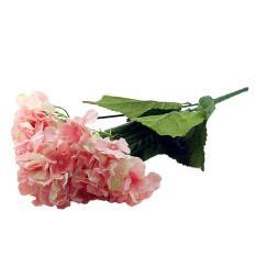 OHOME Bunga Artifisial AN-B0000469P Hortensia 5 Cabang Dekorasi Rumah - Pink