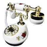 Spesifikasi Ohome Telepon Antik Bermotif Bunga Classic Dekor Rumah An T078 Paling Bagus