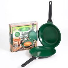 OIKEA Reversible Non-stick Frying Pan Pancake Cake Maker Mesin Dapur-Intl