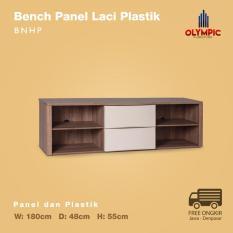 Olympic Bench Bedside Table Rak TV - BNHP
