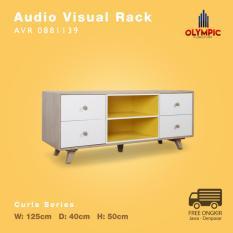 Olympic Curla Series Audio Visual Rack - Rak TV