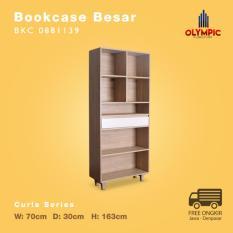 Olympic Curla Series Bookcase - Rak Buku Besar