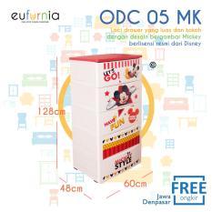 Jual Beli Online Eufurnia Olymplast Drawer Cabinet Tempat Penyimpanan Odc 05 Mk