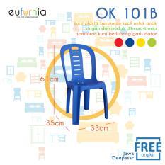 Kursi Anak Plastik Eufurnia Olymplast  OK 101B / Biru / 100% FREE ONGKIR JAWA DENPASAR