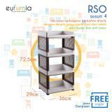 Toko Eufurnia Olymplast Rak Susun Plastik Rso 04 Lengkap