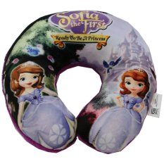 Diskon Onlan Bantal Leher Disney Sofia The First Purple