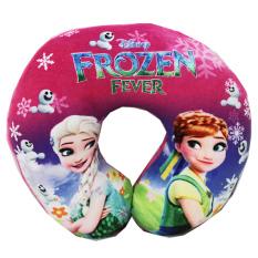 Jual Onlan Disney Frozen Fever Bantal Leher Anak Isi Dacron Halus Lembut Pink Onlan Grosir