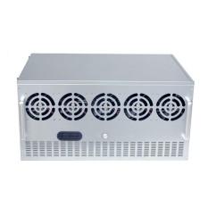 Udara Terbuka Mining Rack Frame Rig Case Kotak 7.5U untuk 12 GPU Ethereum ETH/ZEC/Bitcoin-Intl