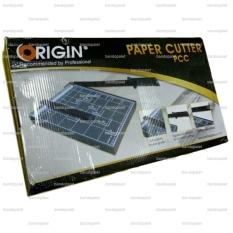 Origin F4 Papan Tatakan Alas Pemotong Alat Potong Kertas F4R - Paper Cutter Fotocopy Photocopy Foto Copy Paper Cutter Meja Desk Plat Pelat Besi