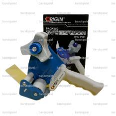 Origin Ord P001 Role Tape Holder Dispenser Rumah Cutter Pemotong Packing Lakban Solasi Asli