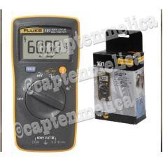 ORIGINAL Digital Multimeter Fluke 101 Multitester Avometer Multimeter Digital Alat Pengukur Ukur Arus Tegangan Voltase Volt Hambatan Listik Fluke 101