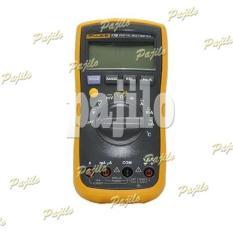 ORIGINAL Fluke 17B+ Plus Sanwa Multitester Avometer Multimeter Digital Alat Pengukur Ukur Arus Tegangan Voltase Volt Hambatan Listik Fluke 17B+