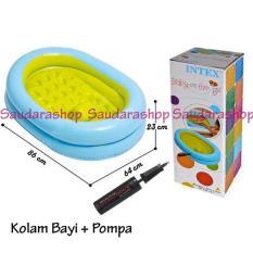 Jual Original Intex Kolam Mandi Bayi Pompa 48421 Kolam Bayi Baby Bath Tub Import