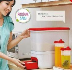 ORIGINAL - SALE Tupperware Rice Smart 10 Kg Tempat Beras Besar Promo